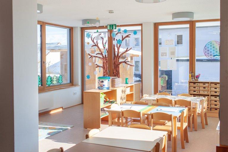 Grossansicht in neuem Fenster: 2 - Gruppenraum Feldmäuse